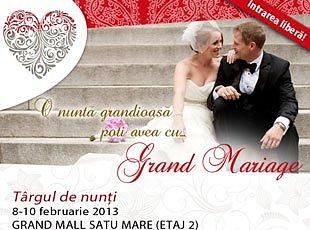 Targul de nunta Grand Mariage 2013